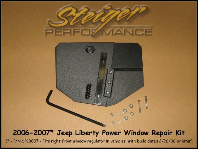 Steiger performance jeep liberty power window regulator for 2002 jeep liberty window regulator repair kit