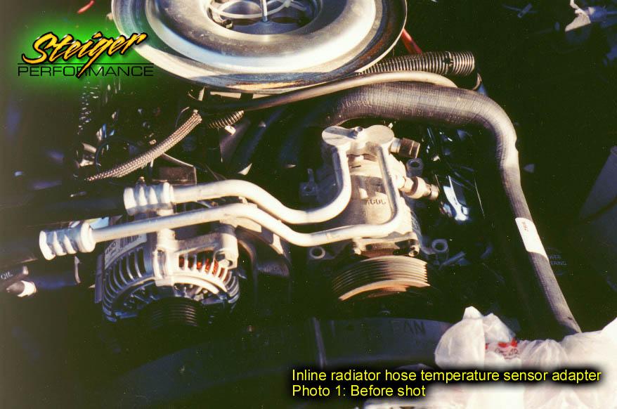 Steiger Performance - Inline radiator hose temperature