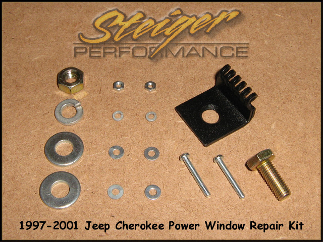 Steiger performance jeep cherokee power window regulator repair kit click for larger picture publicscrutiny Choice Image