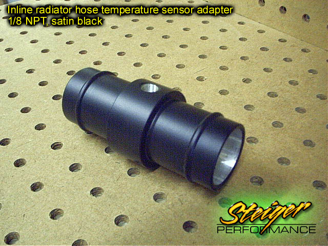 Inline Temp Sensor : Steiger performance inline radiator hose temperature